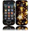 BasAcc - Hard Rubberized Design Cover Case For Samsung T528G - Gold Star - Gold Star