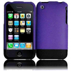 Insten - Rubberized Two Part Snap On Hard Cover Case For iPhone® 3G S 3GS