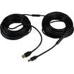 Startech - 20m / 65 ft Active USB 2.0 A to B Cable M/M - Black - Black