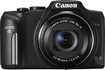 Canon - PowerShot SX170 IS 16.0-Megapixel Digital Camera - Black - Black