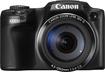 Canon - PowerShot SX510 HS 12.1-Megapixel Digital Camera - Black