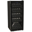 EdgeStar - 84 Bottle Glass Door Wine Cabinet - Black