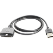 Fosmon - Dell Axim X50 / X51 / X50v / X51v Sync and Charge Cable - Black - Black