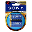 Sony - AM2PTB2A Alkaline C General Purpose Battery 2 Pack