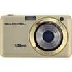 Bell and Howell - S30HDZ-C 15.0 Megapixel S30HDZ Slim Digital Camera with 5x Optical Z - Champagne