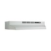 Broan - F403001 Under Cabinet Vent Hood - White - White