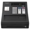Sharp - Entry Level Electronic Cash Register - Black