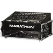Marathon - Flight Road Case Shipping Box - Black, Chrome - Black, Chrome