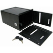 Trademark - Steel Toke Box with Lock - Under Table Mount - Black - Black