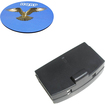 HQRP - Battery for Sennheiser RI 250 RI 250J RI 250S Headphones Receiver + Coaster