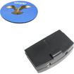 HQRP - Battery for Sennheiser set 810 set 810S TV Listening System + Coaster