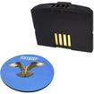 HQRP - Battery for Sennheiser Set 830 Set 830-S Set-830 TV listening + Coaster