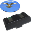 HQRP - Battery for Sennheiser SET100J SET 100 J Headphones Receiver plus Coaster