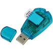 eForCity - New USB Cell Phone Sim Card Reader Compatible With Backup SMS to PC