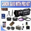 Canon - XA10 Professional Camcorder with 64GB Internal Flash Memory and Full Manual Control w/16GB SDH