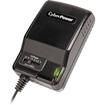 CyberPower - CPUAC600 Universal Power Adapter 3-12V 600mA and AC Power Plug - Black, Gray - Black, Gray