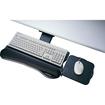 Kensington - Fully Adjustable and Articulating Keyboard Platform - Black - Black