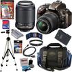 Nikon - Bundle D5200 24.1 MP CMOS Camera (Bronze) with 18-55mm f/3.5-5.6G AF-S DX VR Lens