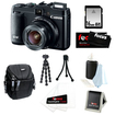 Canon - Bundle PowerShot G16 12.1 MP CMOS Camera with 5x Optical Zoom and 1080p Full-HD Video
