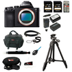 Sony - Bundle ILCE7/B 24.3 MP a7 Full-Frame Interchangeable Digital Lens Camera - Body Only