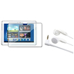 eForCity - Screen Protector + Stereo Headset Bundle For Samsung Galaxy® Note 10.1 N8000