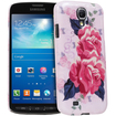 Fosmon - SLIM Crystal Design Protective PC Slim Fit Back Case for Samsung Galaxy S4 Active I9295 SGH-I537 - Vintage Pink Roses - Vintage Pink Roses