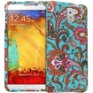 Fosmon - MATT-DESIGN Protective Rubberized Case for Samsung Galaxy Note 3 (2 pcs cover) - Vintage Paisley - Vintage Paisley