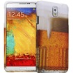 Fosmon - MATT-DESIGN Protective Rubberized Case for Samsung Galaxy Note 3 (2 pcs cover) - Beer Food - Beer Food