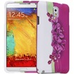 Fosmon - MATT-DESIGN Protective Rubberized Case for Samsung Galaxy Note 3 (2 pcs cover) - Pink Lilac - Pink Lilac
