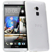 Fosmon - DURA-CANDY Slim Fit TPU Protective Skin Case Cover for HTC One Max / HTC T6 - Clear - Clear