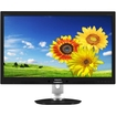 Philips - AMVA LCD Monitor LED Backlight with PowerSensor - Black