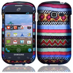 BasAcc - Colorful Indian Pattern Case For Samsung Galaxy Centura S738C