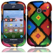 Insten - Colorful Frame Tribal Case For Samsung Galaxy Centura S738C