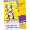 Avery - Self-Adhesive Laminating Sheets - Clear