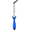 Precision Touch - Fish Stylus with Tether for Apple iPad and Samsung Galaxy Devices (All Models) - Blue - Blue