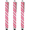 Precision Touch - Bling Stylus Pen for iPad (All Models) iPhone (All Models) Samsung Galaxy Devices (All Models) - Silver - Silver