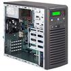Super Micro - SuperServer Barebone System Mid-tower - Intel C222 Express Chipset - Socket H3 LGA-1150 - Black