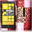 Insten - Hard Rubberized Design Cover Case For Nokia Lumia 920 - Exotic Cheetah