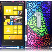 Insten - Hard Rubberized Design Case Cover for Nokia Lumia 920 - Sensational Leopard