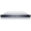 Sans Digital - EN104L+B 1U 4Bay Linux NAS+iSCSI Rackmount Server - Black