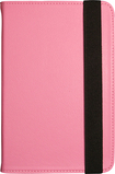 "Visual Land - Pro Folio Case for Most 7"" Tablets - Pink"