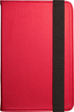 "Visual Land - Pro Folio Case for Most 7"" Tablets - Red"