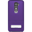Seidio - CSR3LGG2K-PR SURFACE Hard Case Cover with Metal Kickstand for LG G2 / Optimus G2 - Purple - Purple