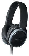 Panasonic - Top-of-Head Monitor Headphones - Black
