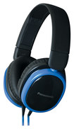 Panasonic - Top-of-Head Monitor Headphones - Blue