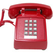 Cortelco - 250047VBA20MD Standard Phone - Red