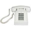Cortelco - 2500-20M Basic Standard Phone - White