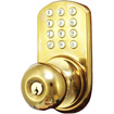 Morning - Touchpad Electronic Door Knob - Polished Brass