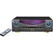 Pyle - A/V Receiver - 350 W RMS - 7.1 Channel, - Black, Gray