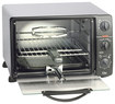 Elite Cuisine - 0.8 Cu. Ft. 6-Slice Toaster Oven Broiler - Black